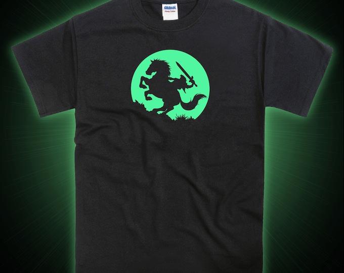 Zelda Epona Inspired Moon Glow in the Dark Tshirt