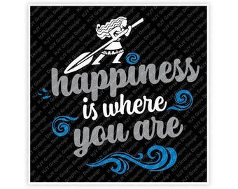 Disney, Moana, Happiness Is Where You Are, Waves, Tattoo, Digital, Download, TShirt, Cut File, SVG, Iron on, Transfer