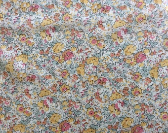 Tana lawn fabric from Liberty of London. Claire Aude.