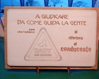 """""""Baby on board"""" picture"""