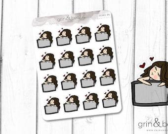 TV Lovefest - Everyday Girl Stickers (EG003)
