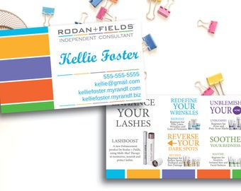 Rodan and Fields Business Cards / Rodan + Fields / PRINTED CARDS ONLY / Lashboost / Product Description / Regimens