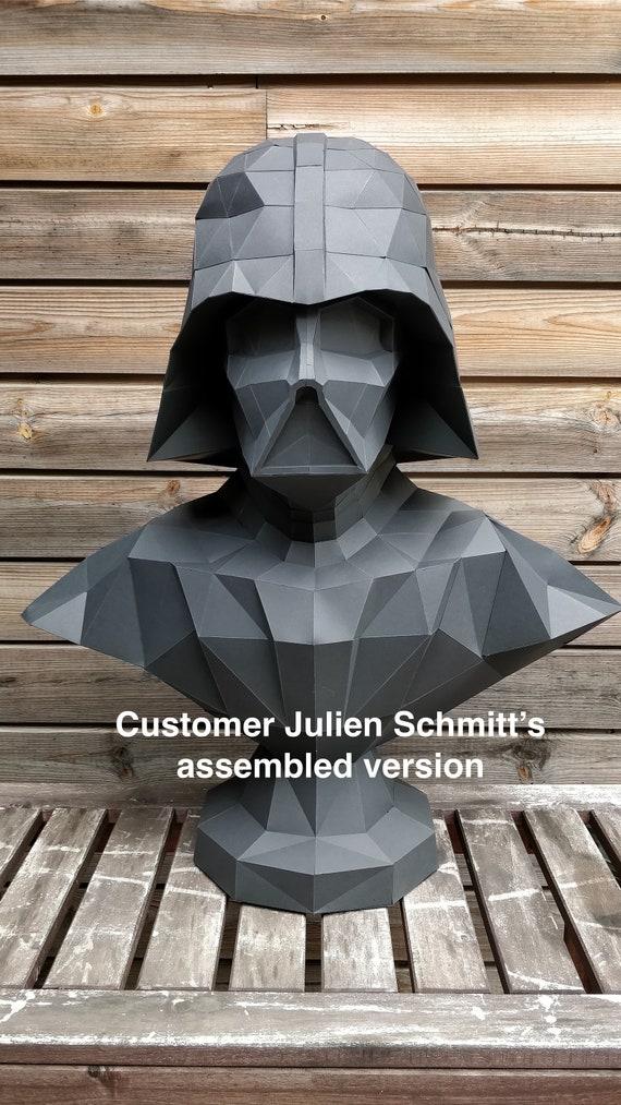 papercraft star wars make your own darth vader statue. Black Bedroom Furniture Sets. Home Design Ideas
