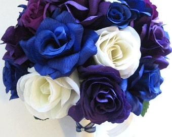 Blue purple wedding | Etsy