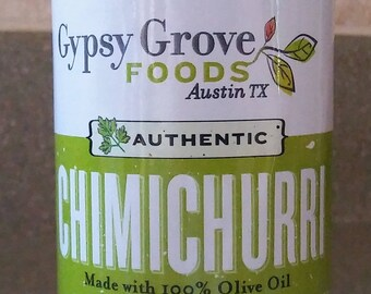 Authentic Chimichurri: Natural product made in Austin, TX