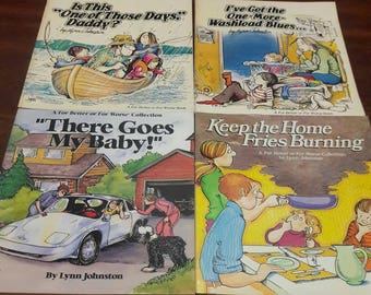 For Better Or For Worse Comic Set, Lynn Johnston, 4 Vintage 80's Funny Pages Comic Books