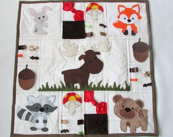 Woodland Baby Tummy Time Mat