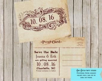 Vintage/Antique SAVE THE DATE