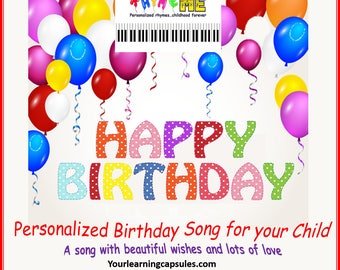 Personalized Happy Birthday Song - RhymeME
