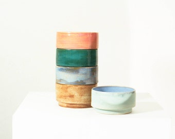 Colorful Stacking Bowls
