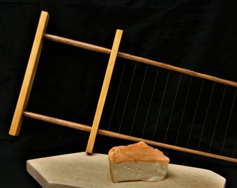 Curd cutter, 3/4 inch,  cheese curd cutter, curd harp, cheese harp, cheese making tool, horizontal curd cutter, artisan cheese making tools