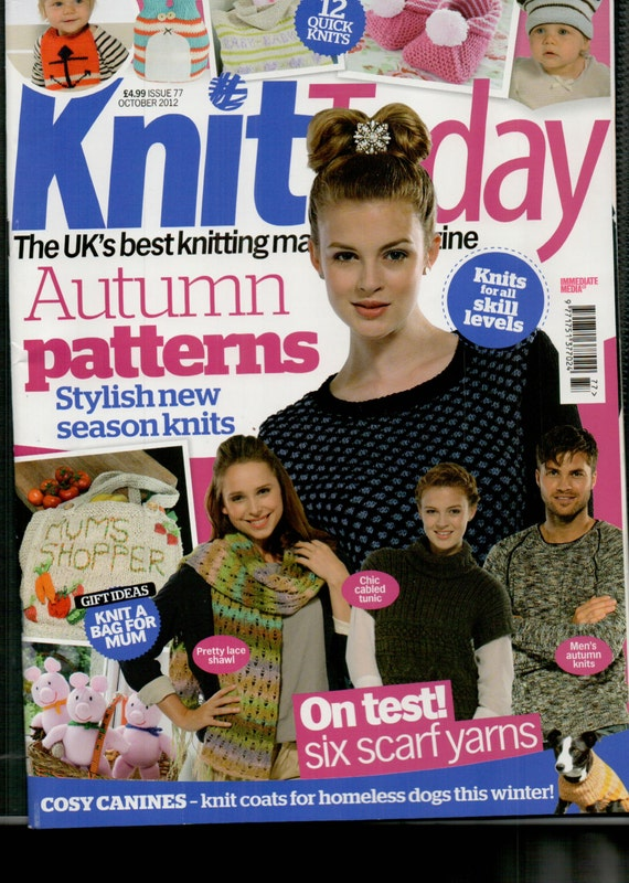 Knit Today Knitting Magazine Issue 77 October 2012
