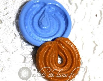 Cookies sprits 21mm silicone mold