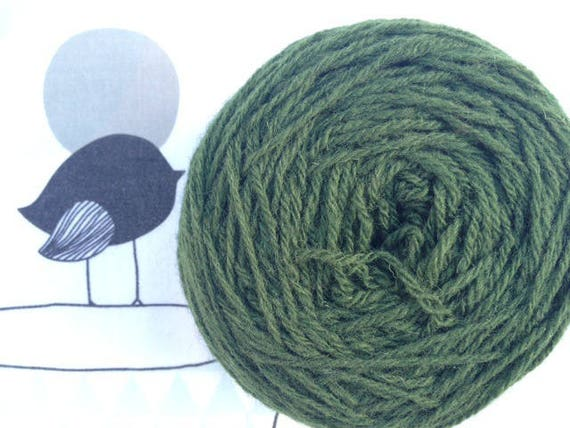Rustic green Bronze - FLEECES BRETON wool
