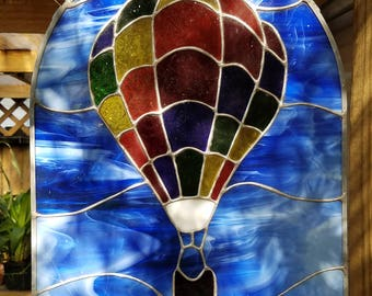 Stained Glass Balloon Panel
