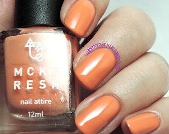 Carrot Sticks - Indie Nail Polish Pastel Orange Creme