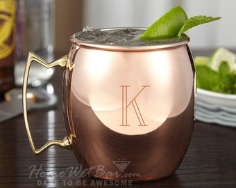 Engraved Moscow Mule Copper Mug, 24 oz - Unique Hostess Gifts