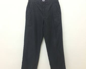C.P. Company charcoal black patched backpocket w29/L40