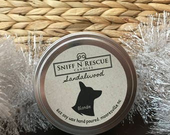 Hand Poured Soy Wax Candle 6oz