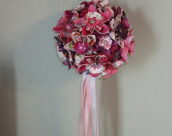 Paper flower ball etsy origami kissing ball paper flowers flower ball mightylinksfo