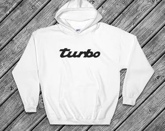Turbo Porsche Hoodie - 911, 993, 996, 930, 918, 959, 944, Carrera, GT3, Cayman