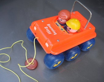 Awesome vintage Fisher Price Bouncing Buggy