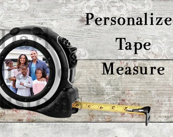 Personalized Tape Measure, 16-Foot, Measuring tape, Fathers day, Birthday, construction, contractor, woodworking, carpentry, Realtor, worker