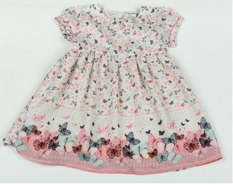 New Infant girl's butterfly dress