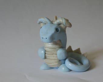 Light Blue Dice Dragon