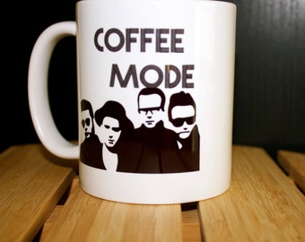 Depeche Mode inspired Coffee Mode Mug