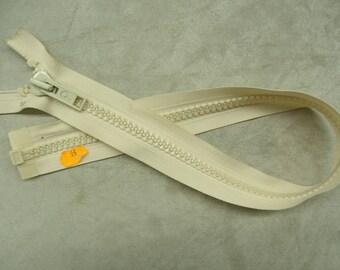 Closure detachable big mesh - 55 cm - cream