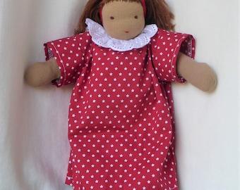 Waldorf doll / Cuddle doll /  Handmade / Danish toy.