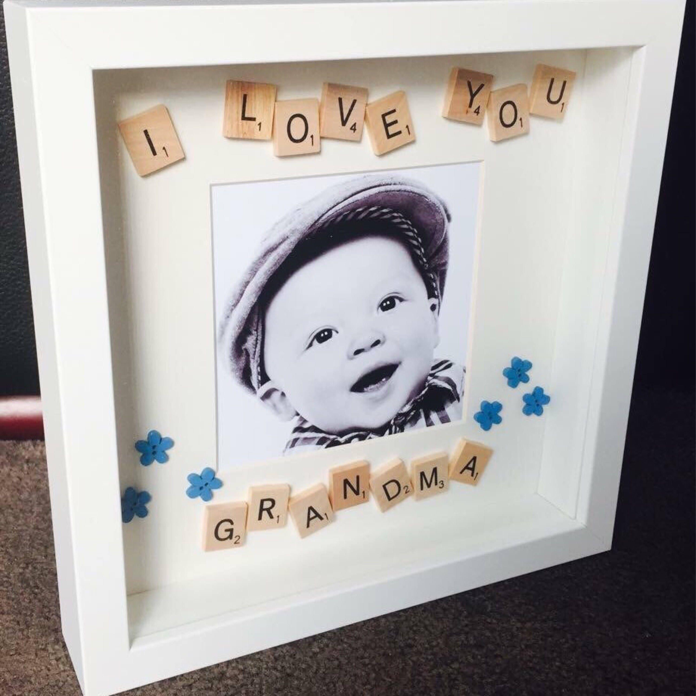 Grandma Frame, Personalised Grandma Gift, Personalised Grandma Gift ...