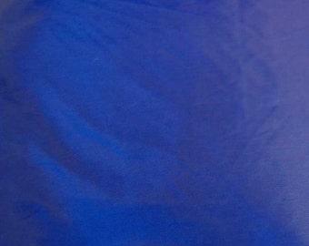 Blue Upcycled Umbrella Dog Rain Coat