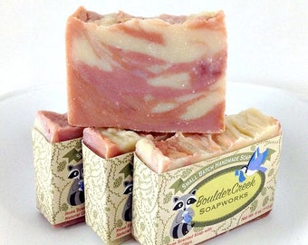 Rose Clay Soap-Handmade Hot Process soap #229,273