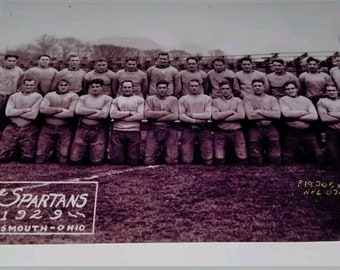 1929 NFL The Portsmouth Spartans Numbered Ultimate Fan Collectibles 5 X 7 Photo