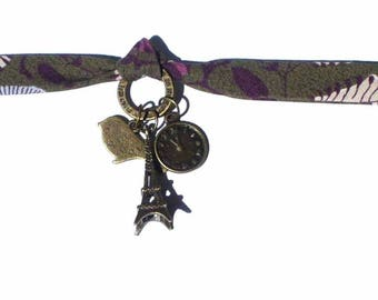 Bracelet purple bias tape Kit