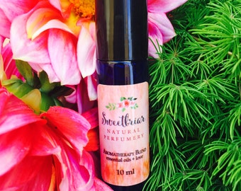 KALI Organic Aromatherapy Oil Roll On Therapeutic Essential Oil Grapefruit Ylang Ylang Vetiver