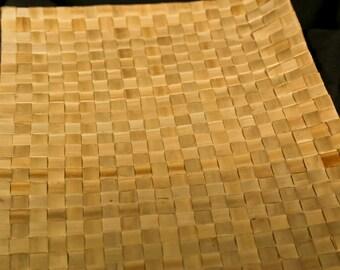Lauhala mat sheet