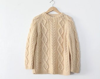 1970s fisherman's sweater