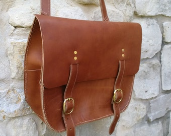 Latigo Leather Field Bag