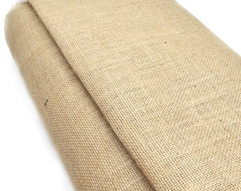 Burlap fabric sold by 50 cm