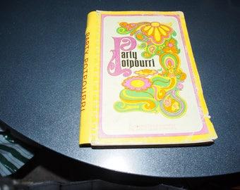 PARTY POTPOURRI COOKBOOK By the Junior League of Memphis 1977 Paperback Spiral
