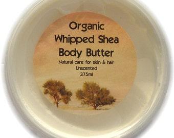 Organic Whipped Shea Butter 1000ml Deli Pot