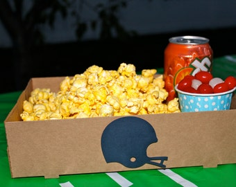 10 Kraft Concessions drink popcorn candy carrier great for movie night or football party
