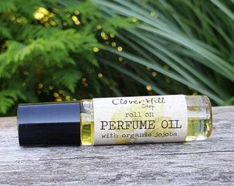 Amber Romance Perfume Oil, Long Lasting Fragrance Blend For Women, Choose Your Size
