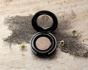 "Beige tan ""Sand"" organic mineral pressed eyeshadow, Simply Pure Cosmetics"