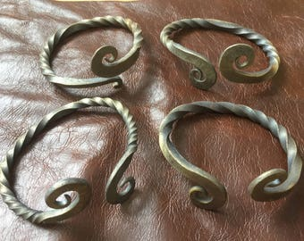 Celtic Iron Age / Viking - 'Warrior' arm ring / bracelet. Hand-forged for re-enactors.