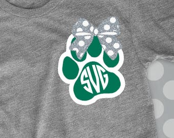 Tigers Svg, Paw svg, Paw cut file, svg, Wildcats, Tigers, bobcats, kats, cats, cougars, dxf, svg, png, svgs, commercial use