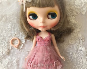 Blythe Doll Silk Dress
